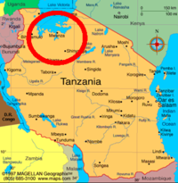 Map Of Africa Lake Victoria | Map Of Africa