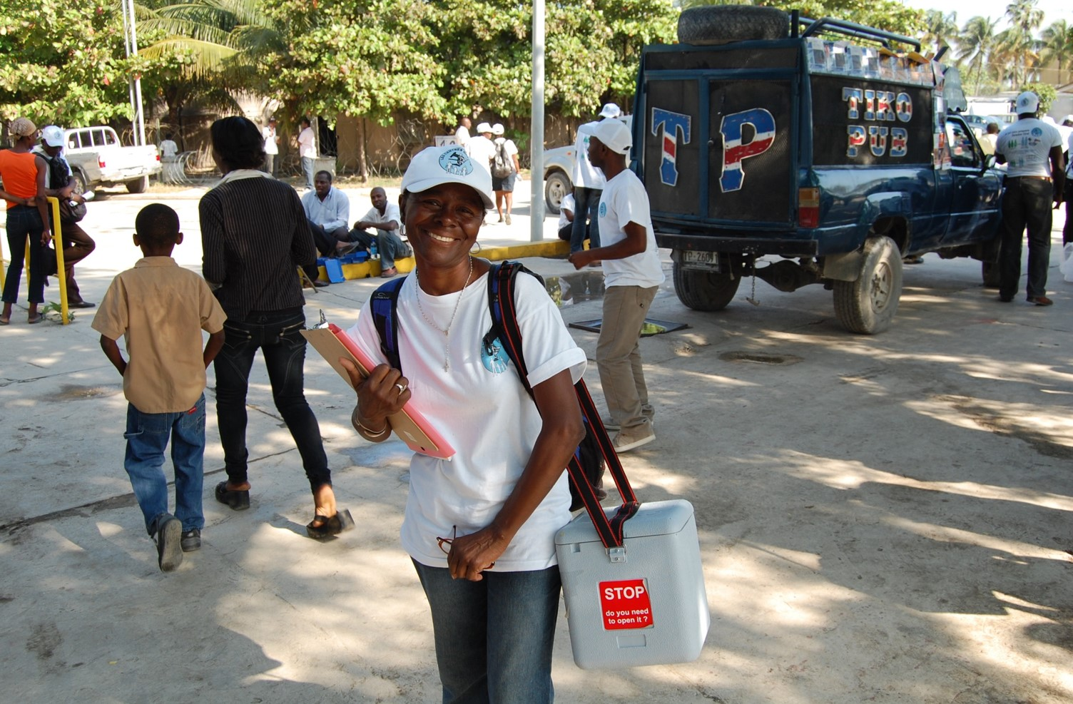 GHESKIO Community Health Worker