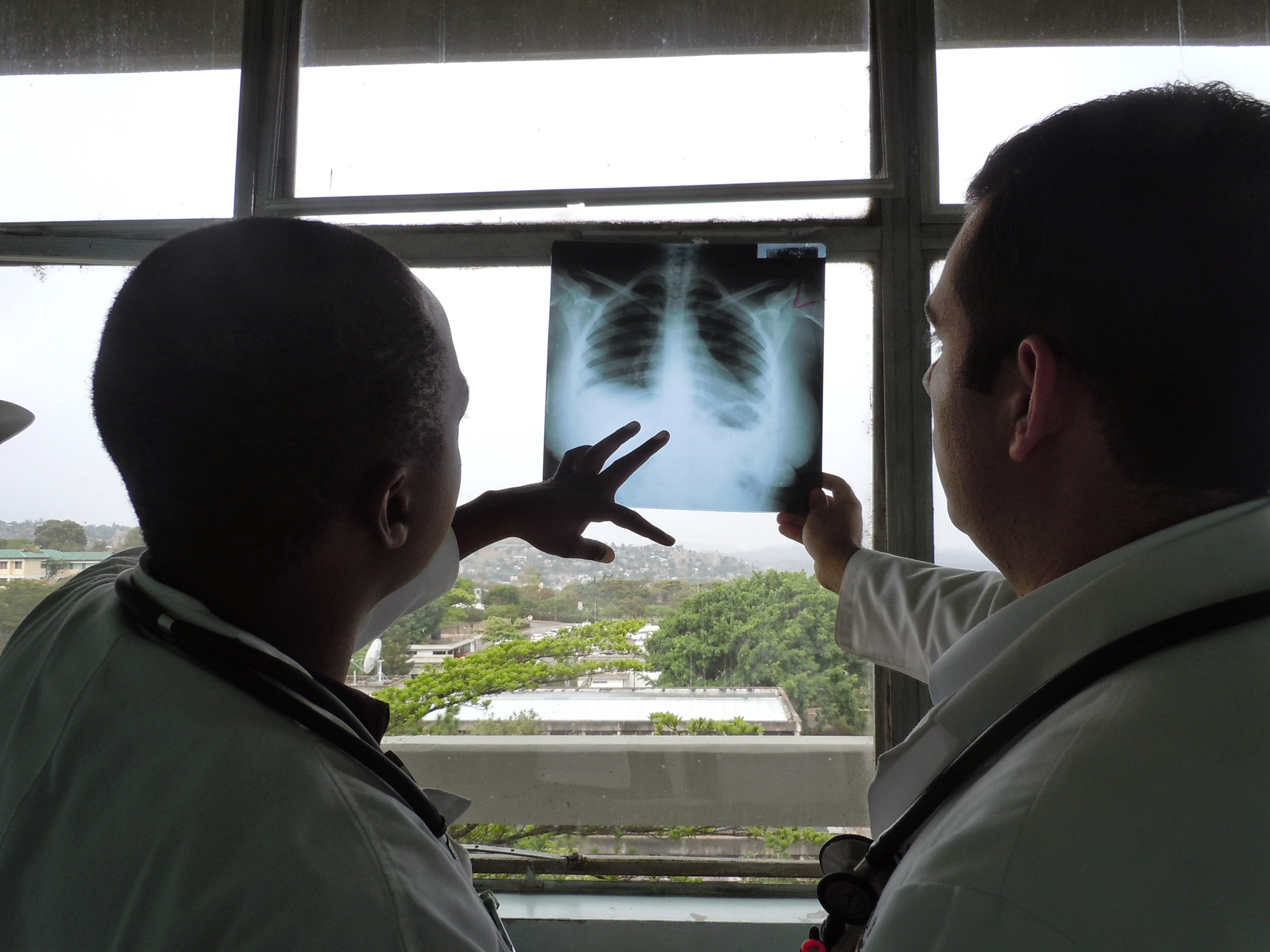 Reviewing X-Rays
